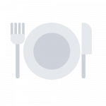 Dinner Icon for dark background