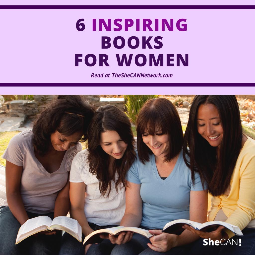 The SheCAN! Network community for women - inspiring books for women