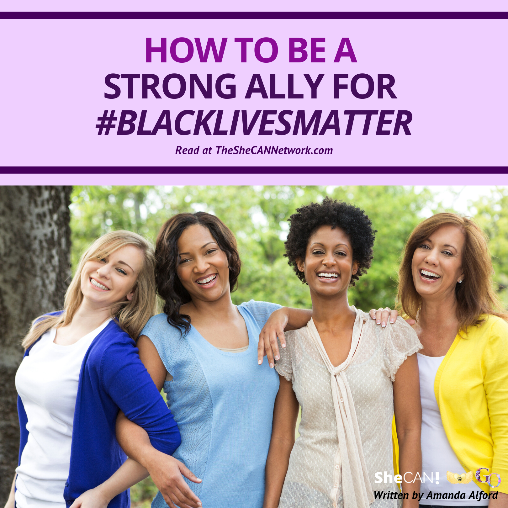 The SheCAN! Network Blog - how to be a strong ally for Black Lives Matter?