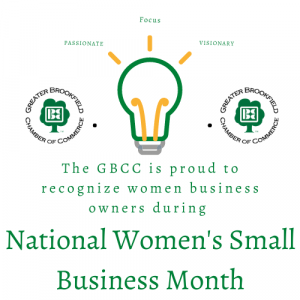National Women's Small Business Month logo