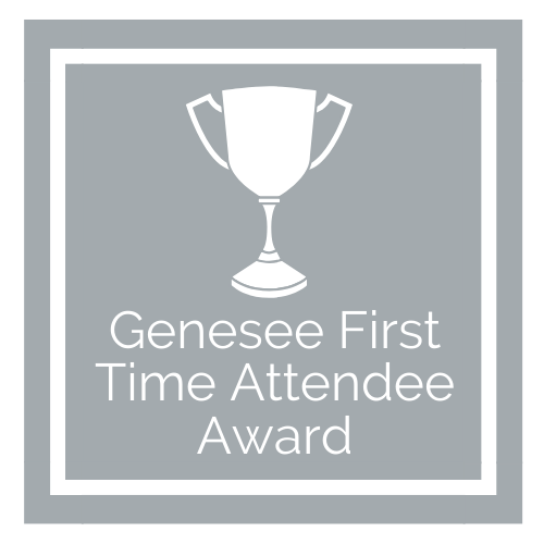 Genesee First Time Attendee Award