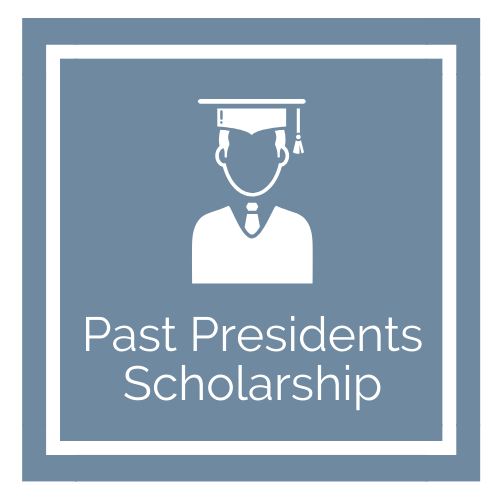 Past Presidents Scholarship Graphic