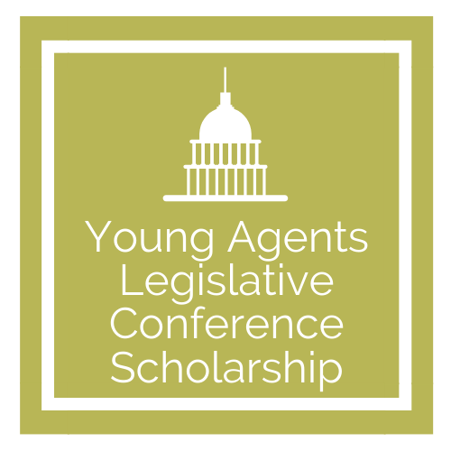 Young Agents Legislative Conference Scholarship Graphic