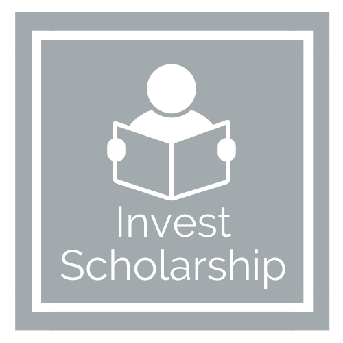 Invest Scholarship Graphic