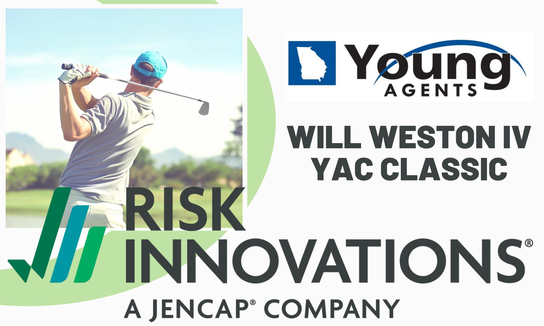 2021 Will Weston IV YAC Classic Golf Tournament Headline Sponsor Risk Innovations