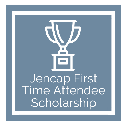 Jencap First Time Attendee Scholarship Graphic