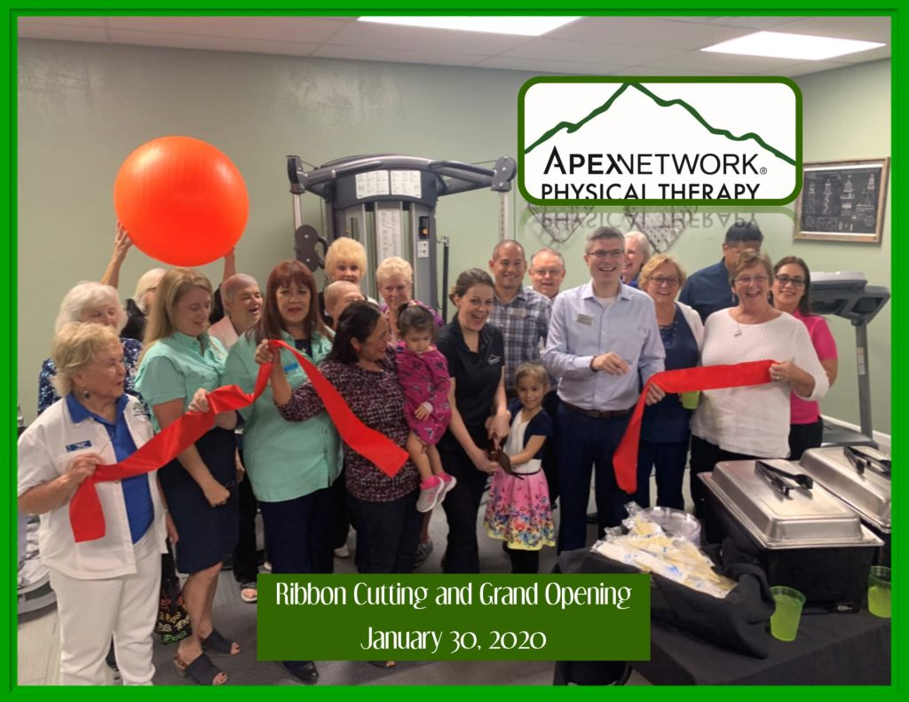 Apex Network-Ribbon Cutting Photo January 3, 2020