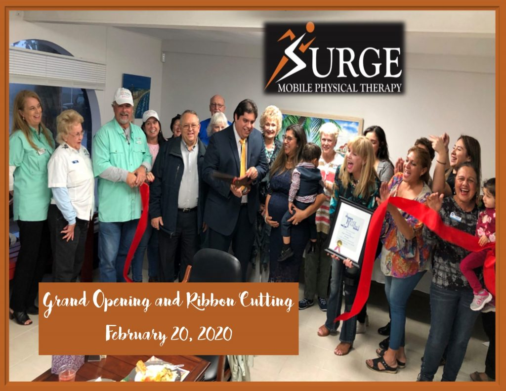 Surge Ribbon Cutting Photo