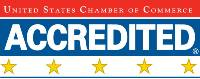 U.S. Chamber Five Star Accreditation Logo
