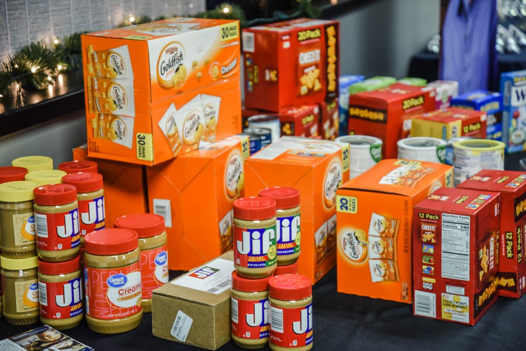 food shelf items