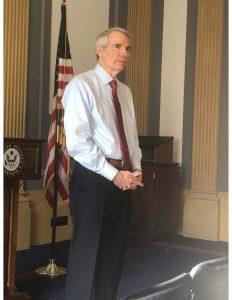 U.S. Senator Rob Portman of Ohio
