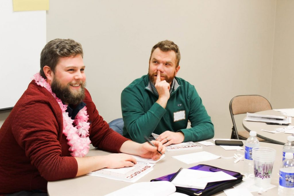 Simulated Society Day for West Coast Leadership