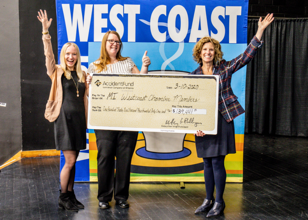 Accident Fund Dividend Deliver3ed to West Coast Chamber