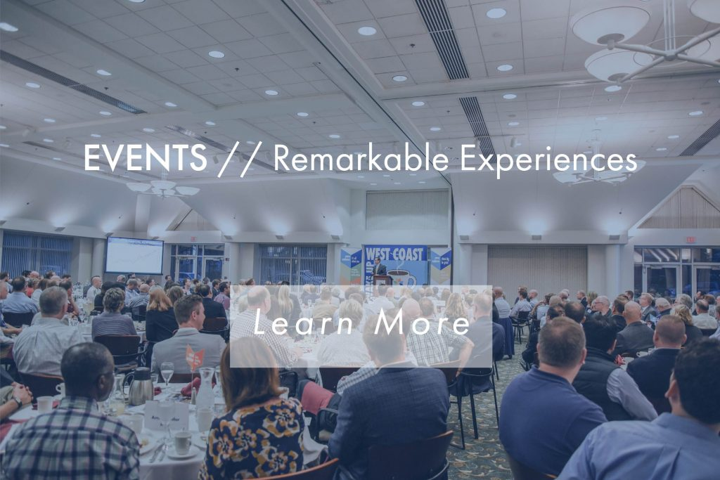 Events Remarkable Experiences