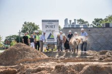 Port 393 Ground Breaking