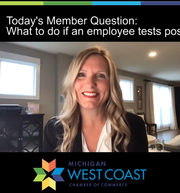 Today's Member Question about Employees Testing Positive