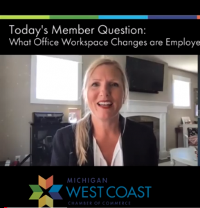 Nikki Probst Member Question of the Day on Changes in the Office Workspace