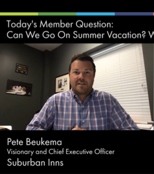 Member Question of the Day on Summer Travel and Hotels