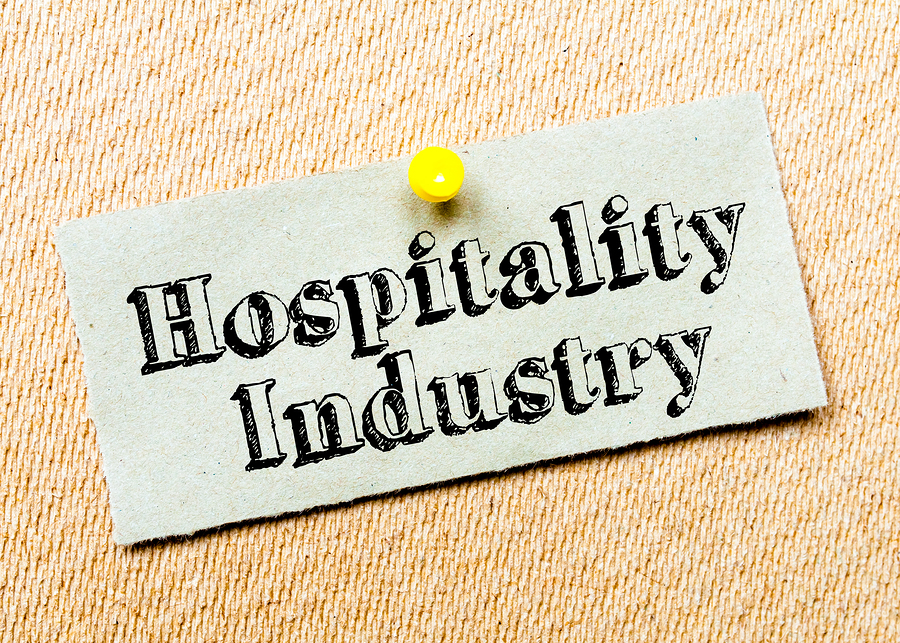Hospitality Industry sign