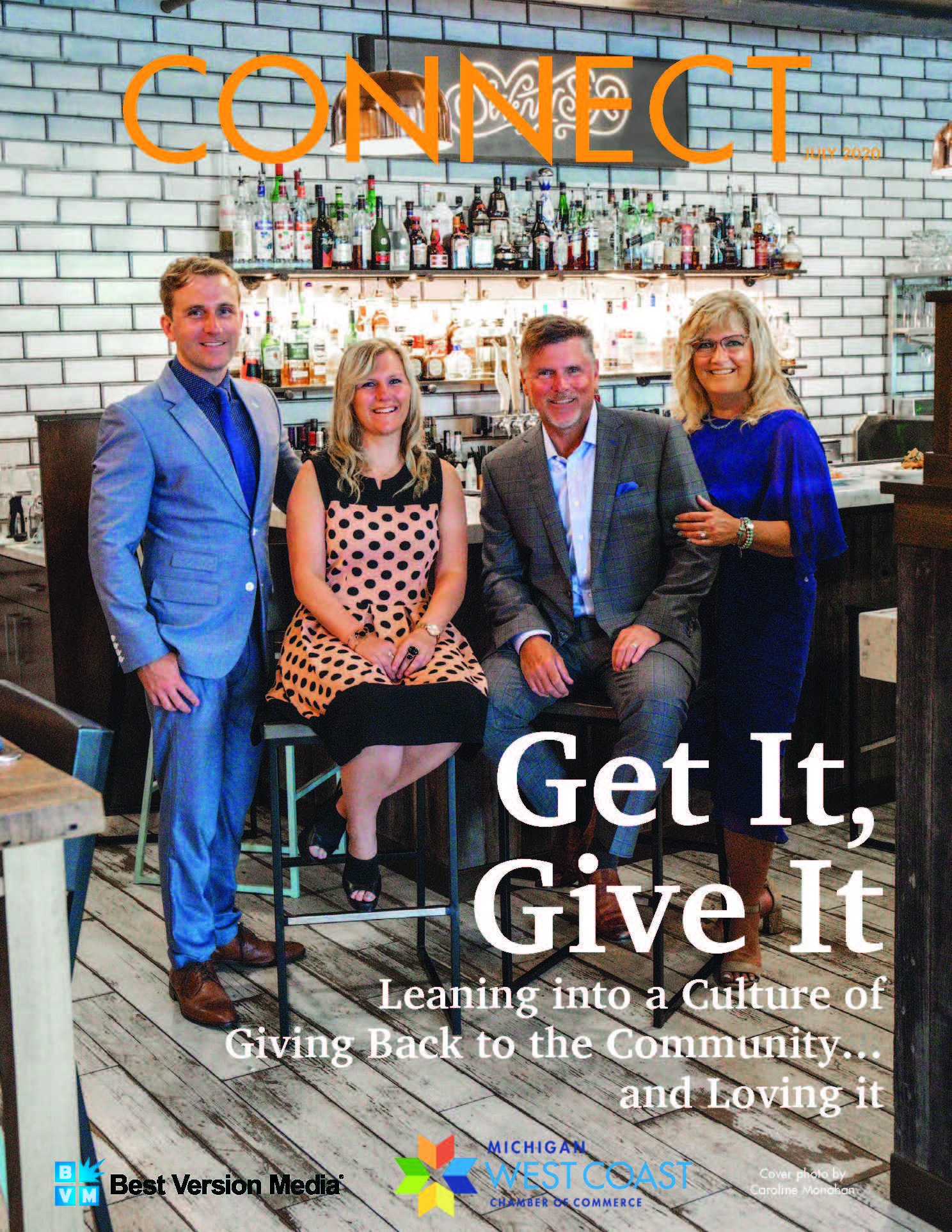 The Insurance Group Seventy Six Restaurant Connect Magazine Cover