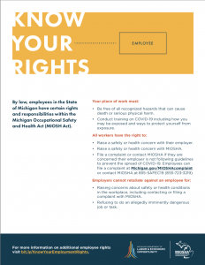 Know Your Rights Poster