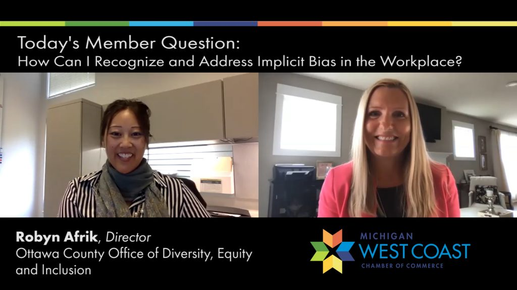 Robyn Afrik Member Question of the Day on Implicit Bias.