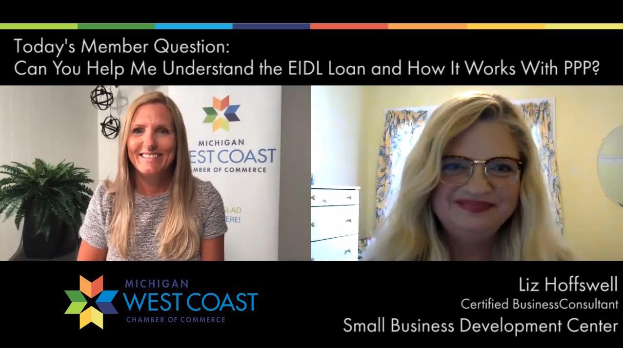 Member Question Liz Hoffswell SBDC - Emergency Funding