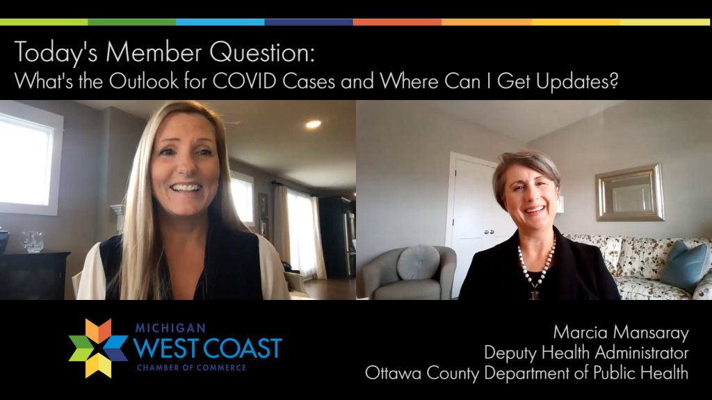 Member Question COVID Outlook and Ottawa County Health Department Information