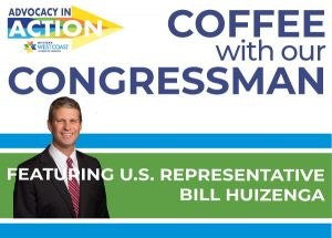 Coffee with our Congressman Rep. Bill Huizenga