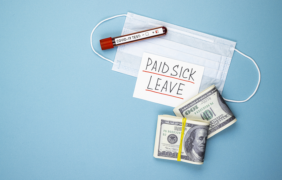 Member Question COVID Legal Paid Sick Leave With A Medical Mask