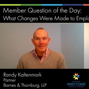 Member Question fo the Day on Employee Retention Tax Credits