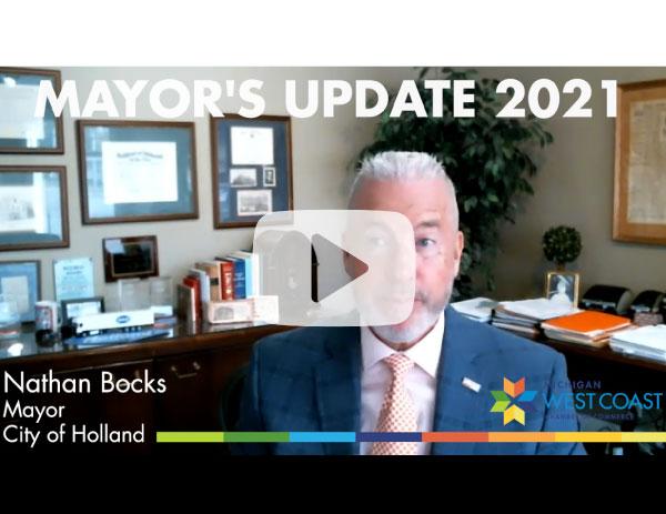 Mayor's Update 2021 Video Thumbnail