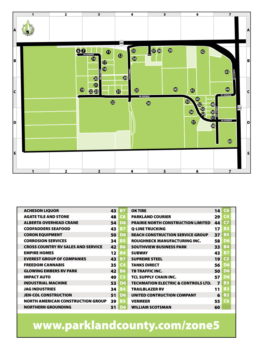 Zone 5 map