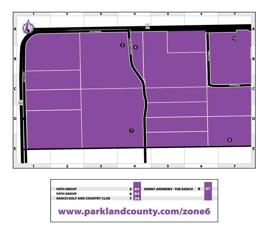 Zone 6 map