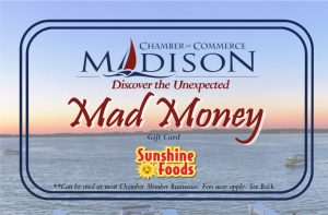 Mad Money-Gift Card Design Sunshine