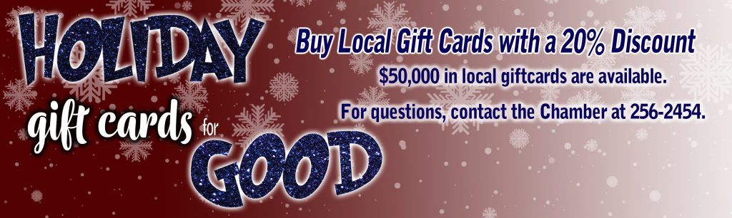 Holiday Giftcards for Good Banner1