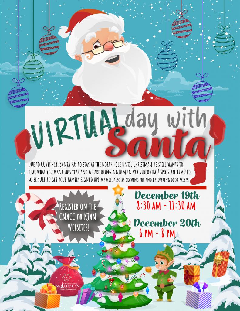 2020 VIrtual Day with Santa