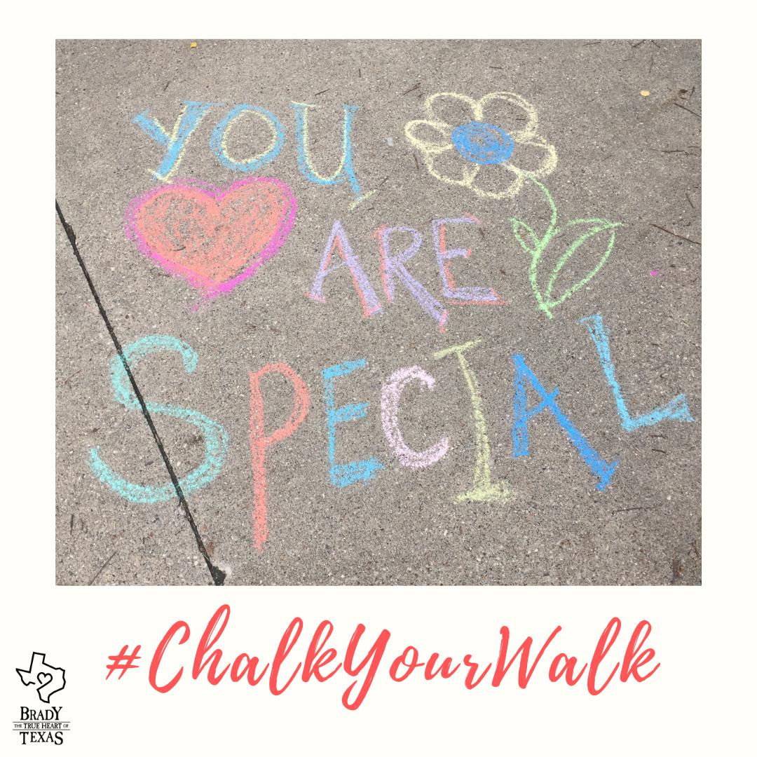 #ChalkYourWalk