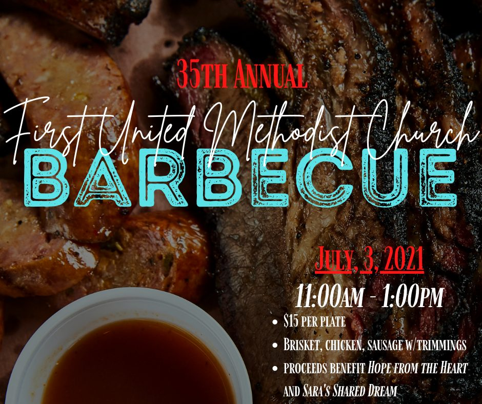 Copy of First United methodist church barbecue