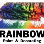 Rainbow Paint Logo