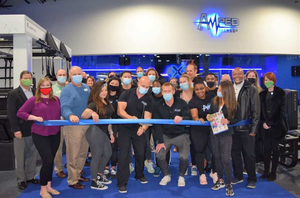 Amped Fitness Joint Ribbon Cutting