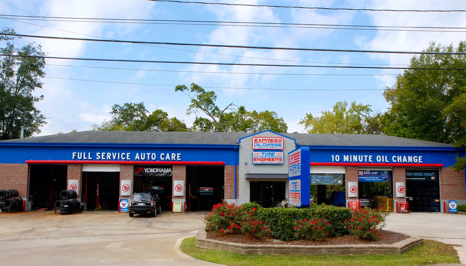 Welcome New Member Express Oil & Tire Engineers - Cahaba Heights