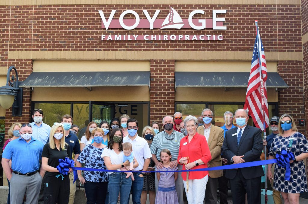 Voyage Family Chiropractic Ribbon Cutting
