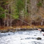 Flyfisher in action