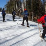 People Snowshoeing