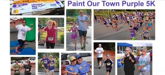 Paint Our Town Purple