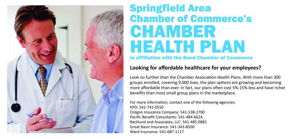 Chamber health plan
