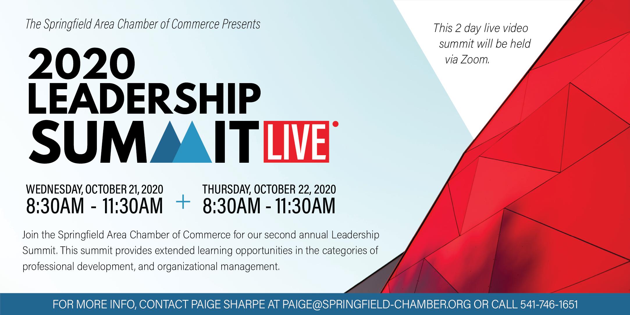 2020 Leadership Summit Live