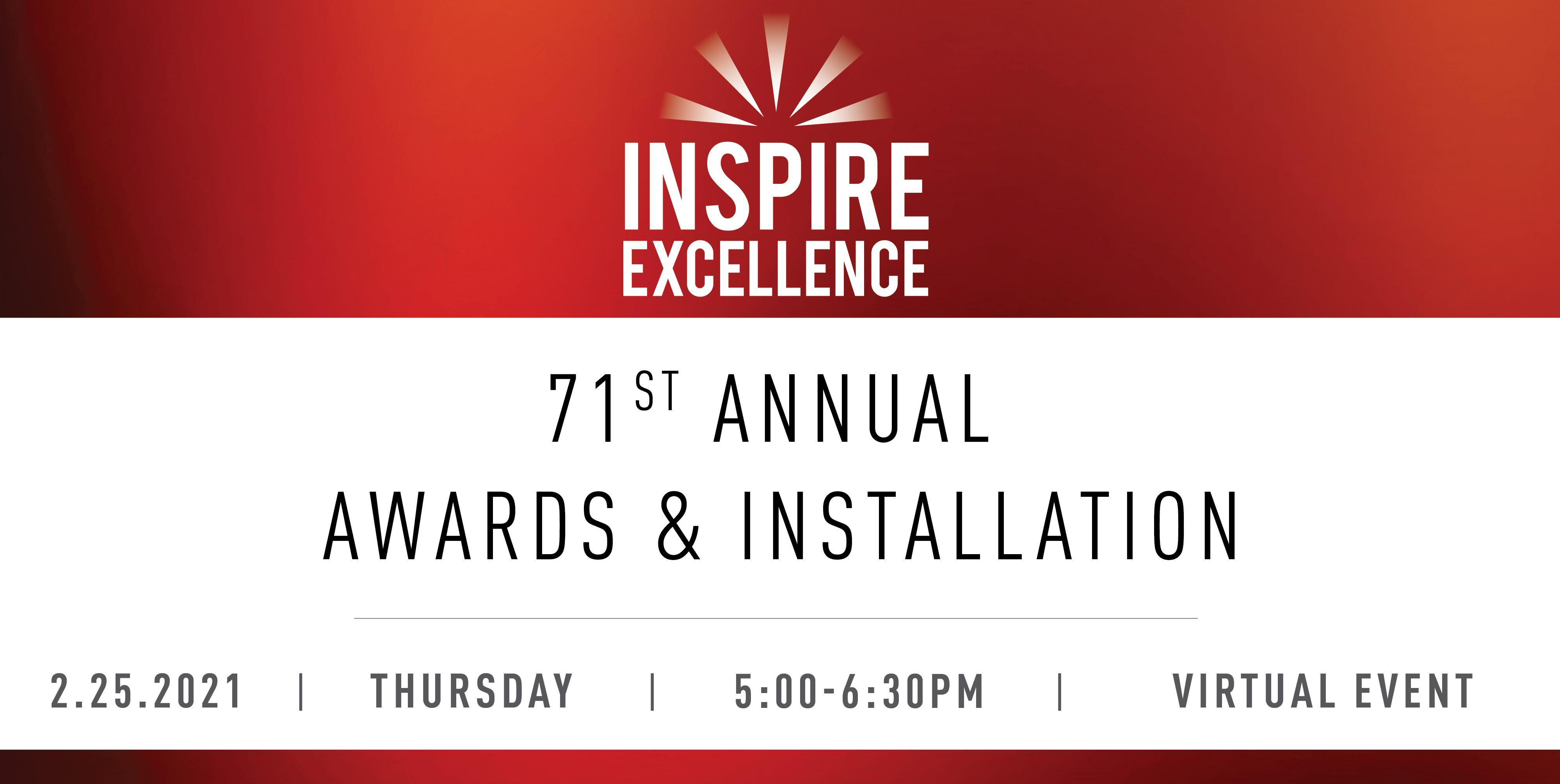 71st Annual Awards & Installation