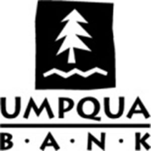 Umpqua Bank logo black stacked